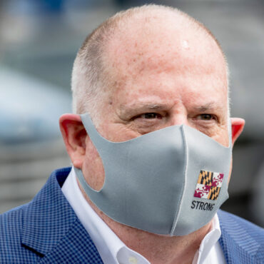Larry Hogan Face-mask